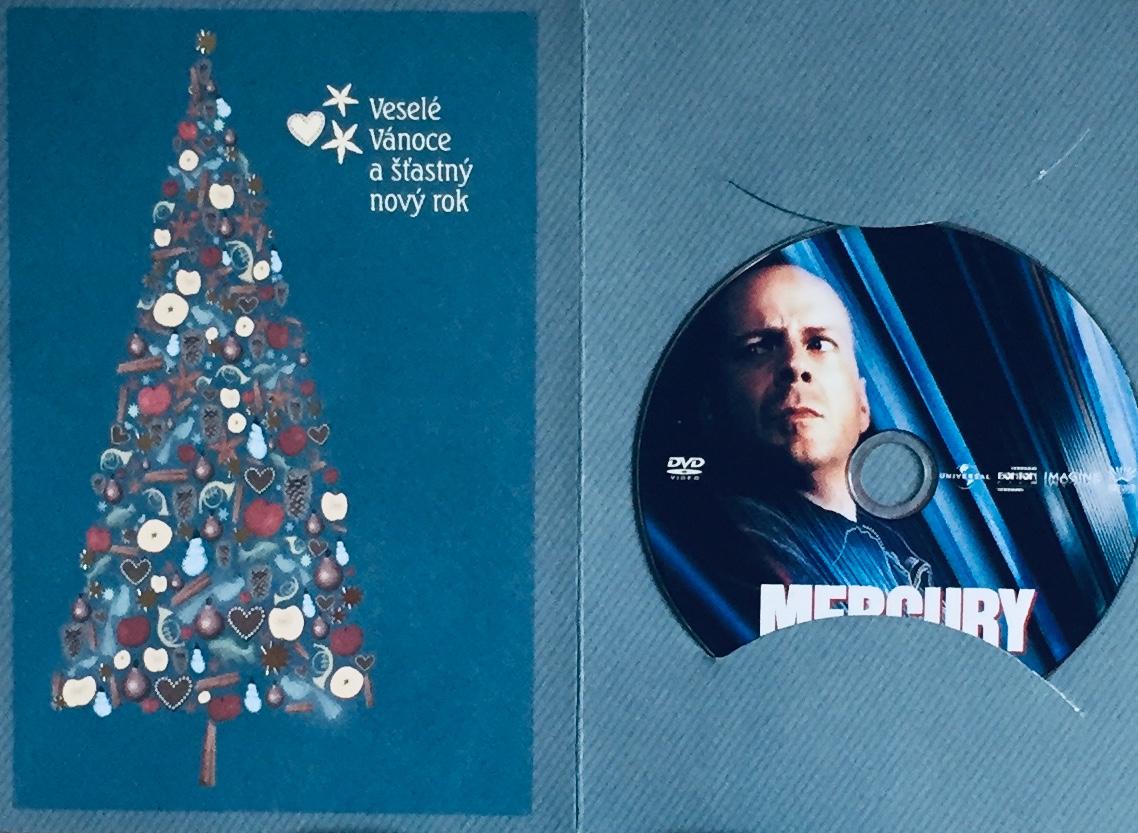 Mercury - DVD /dárkový obal/