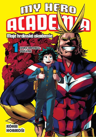 My Hero Academia 1 Moje hrdinská akademie - Horikoši Kóhei