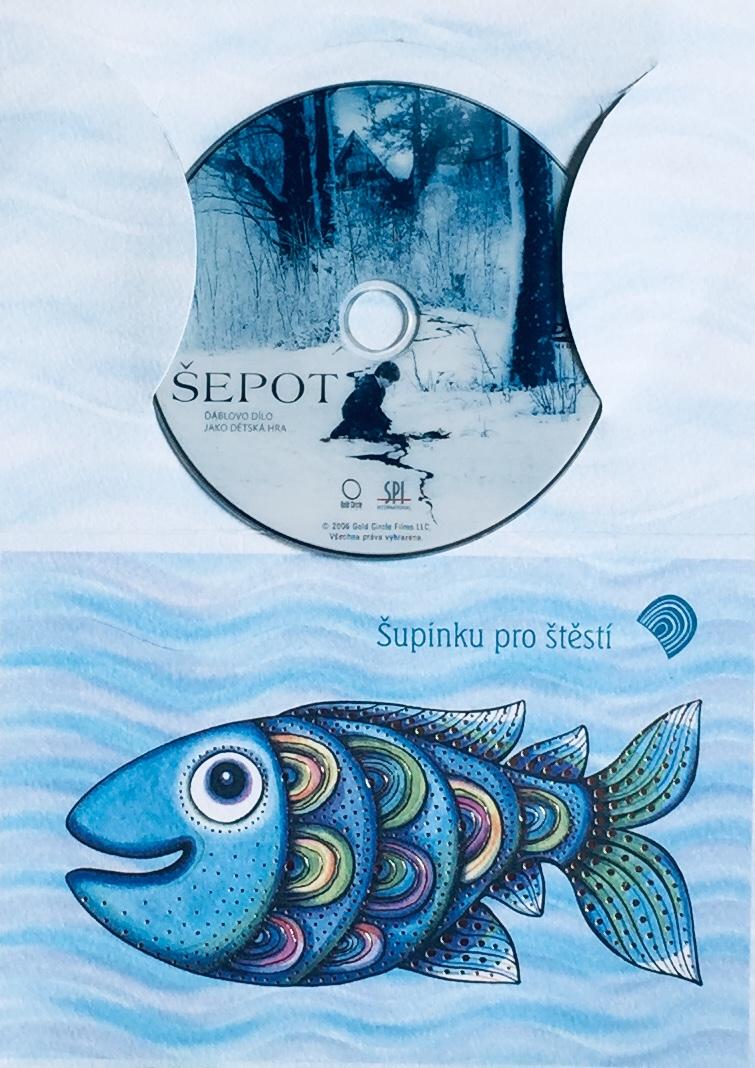 Šepot - DVD /dárkový obal/