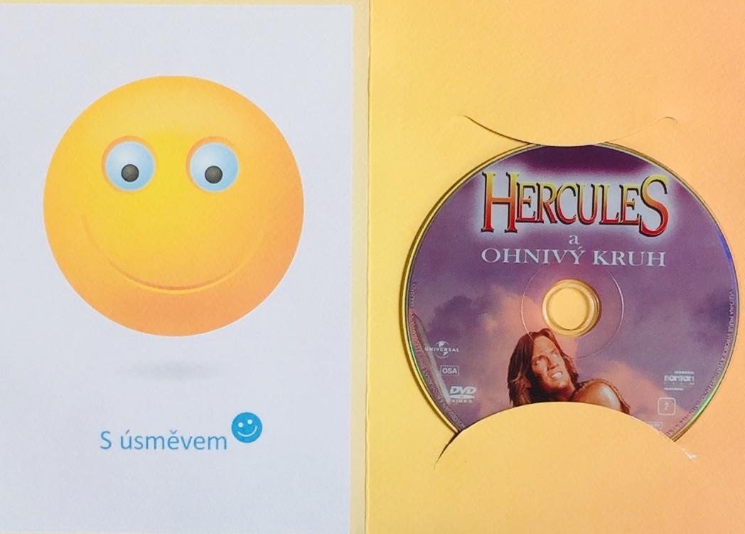 Hercules a ohnivý kruh - DVD /dárkový obal/