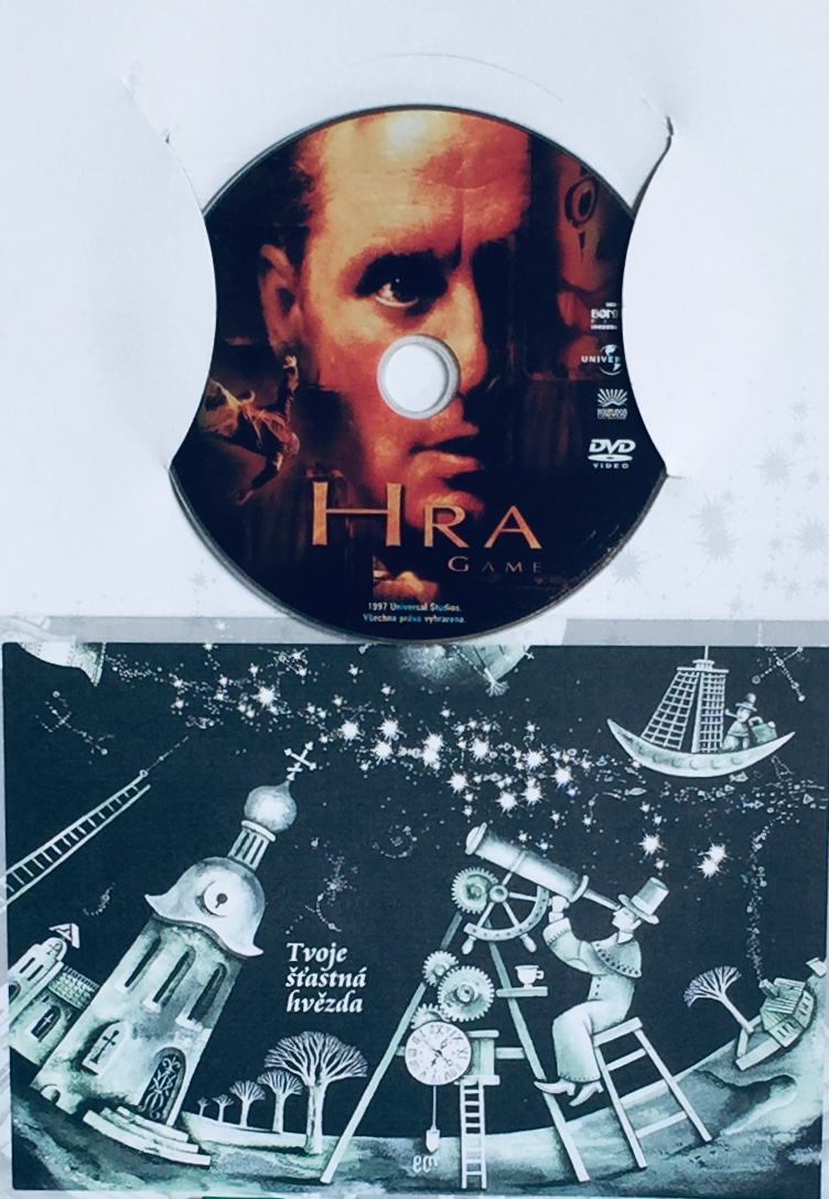 Hra - DVD /dárkový obal/