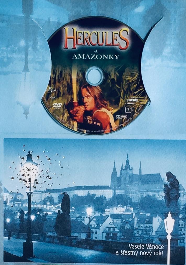 Hercules a Amazonky - DVD /dárkový obal/