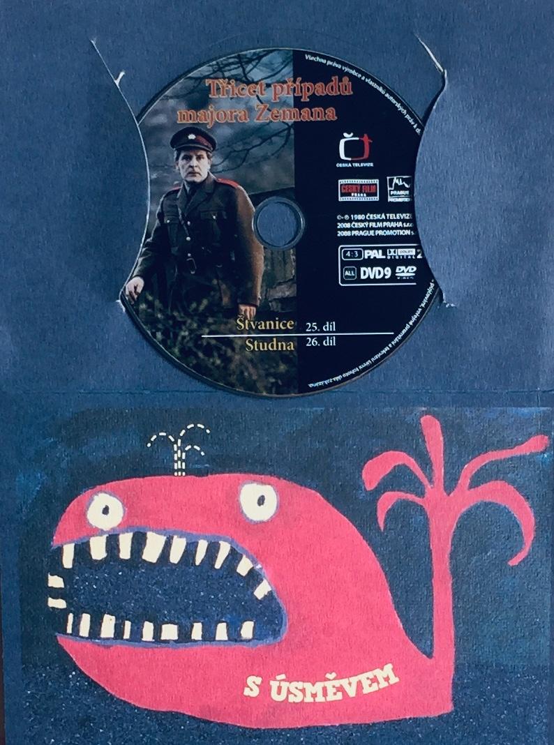 Třicet případů majora Zemana - 25,26 - DVD /dárkový obal/