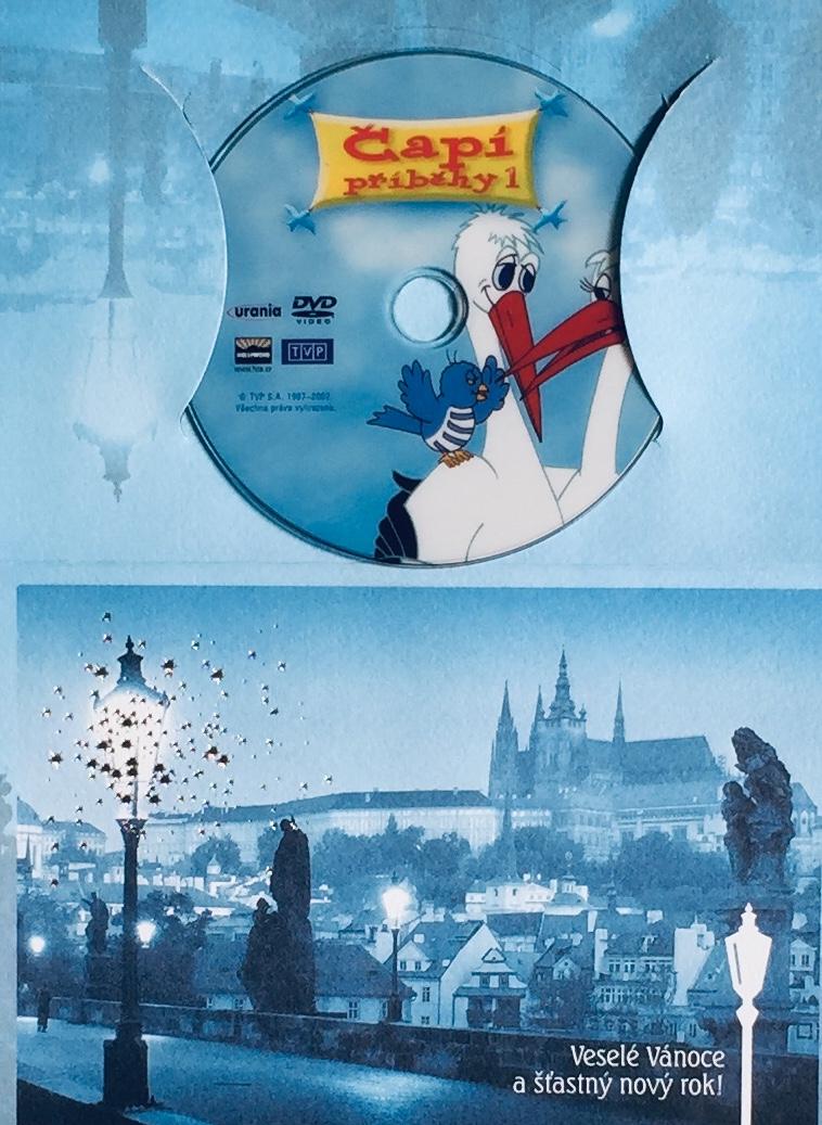 Čapí příběhy 1 - DVD /dárkový obal/