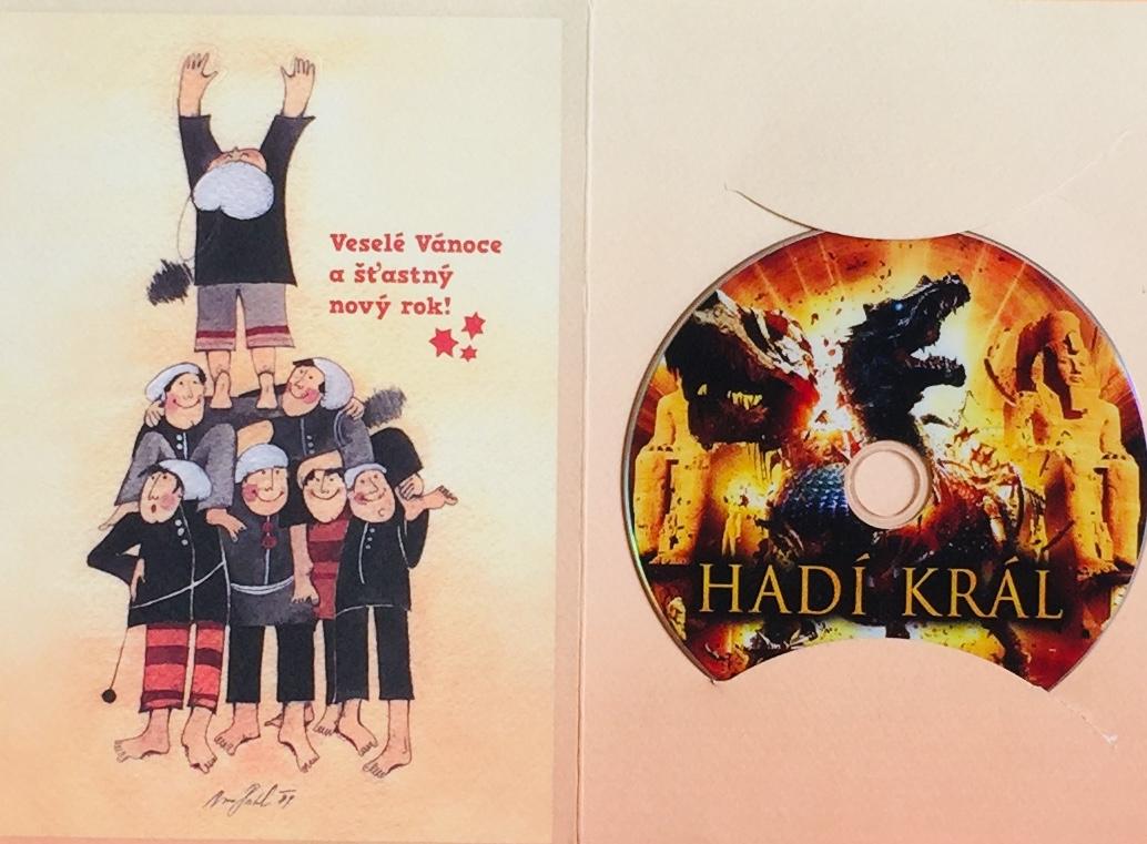 Hadí král - DVD /dárkový obal/