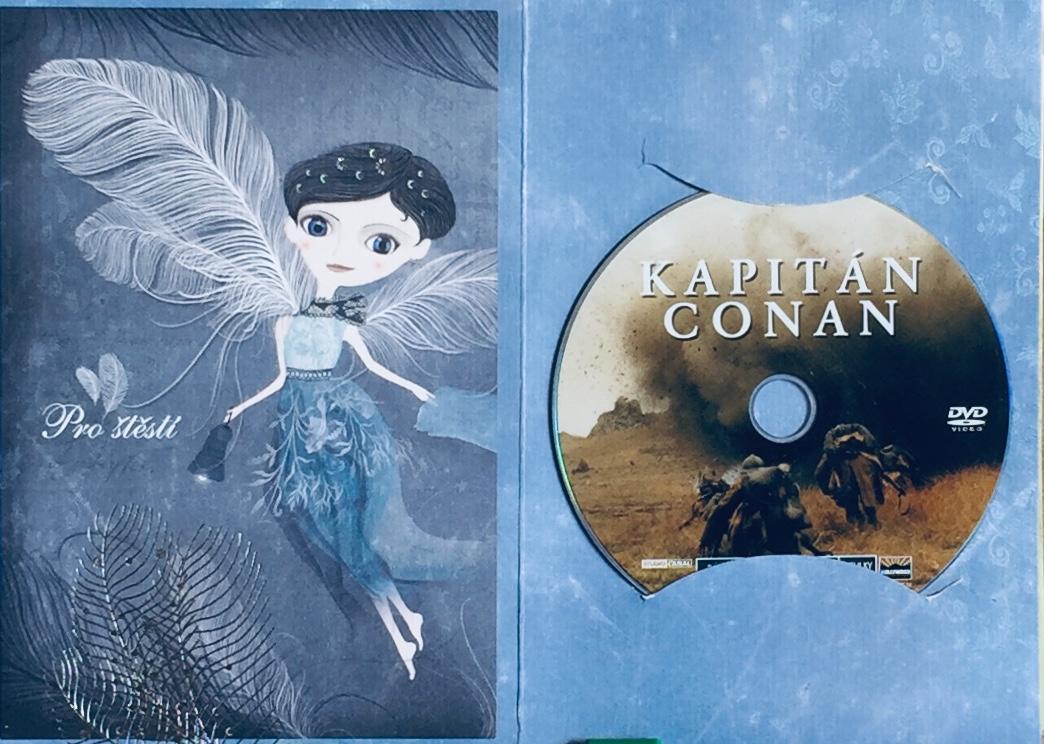 Kapitán Conan - DVD /dárkový obal/