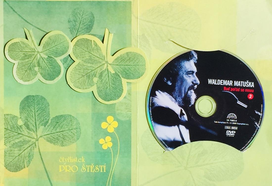 Waldemar Matuška - Buď pořád se mnou - DVD /dárkový obal/