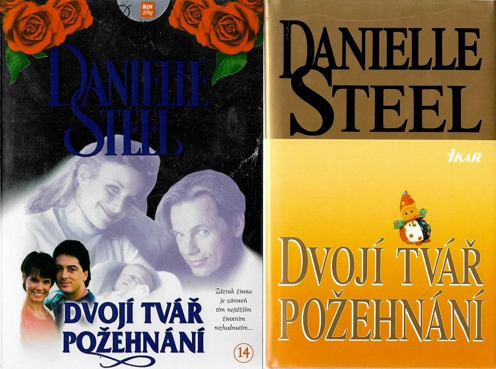 Knižní Kolekce Danielle Steel: Dvojí tvář požehnání - (1x kniha bazarová + 1xDVD pošetka)
