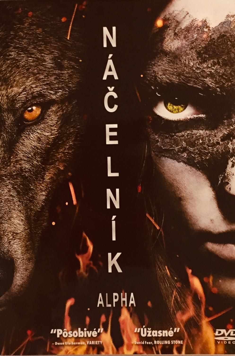 Náčelník Alpha - v originálním znění s CZ titulky - DVD /plast/