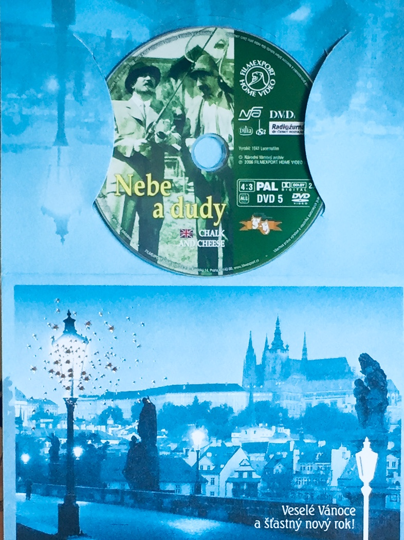 Nebe a dudy - DVD /dárkový obal/