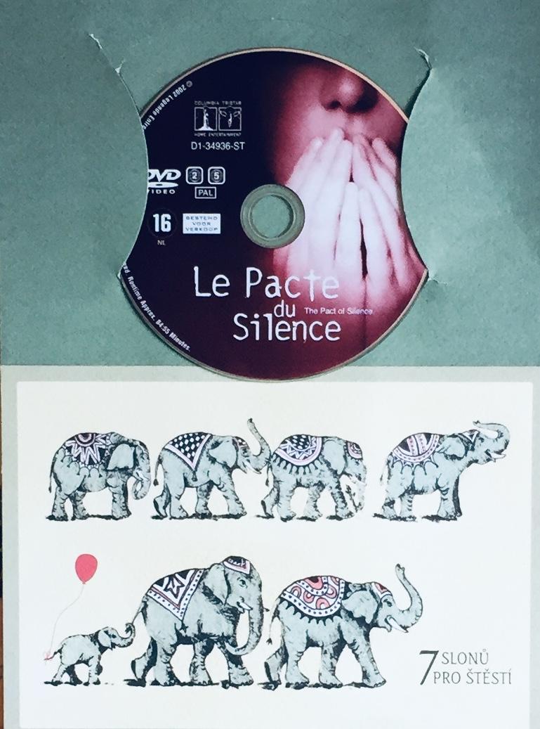 Le Pacte du Silence / Bratrstvo ticha - v originálním znění s CZ titulky - DVD /dárkový obal/