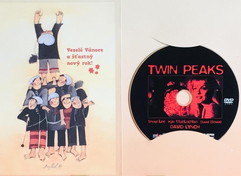 Twin Peaks - DVD /dárkový obal/