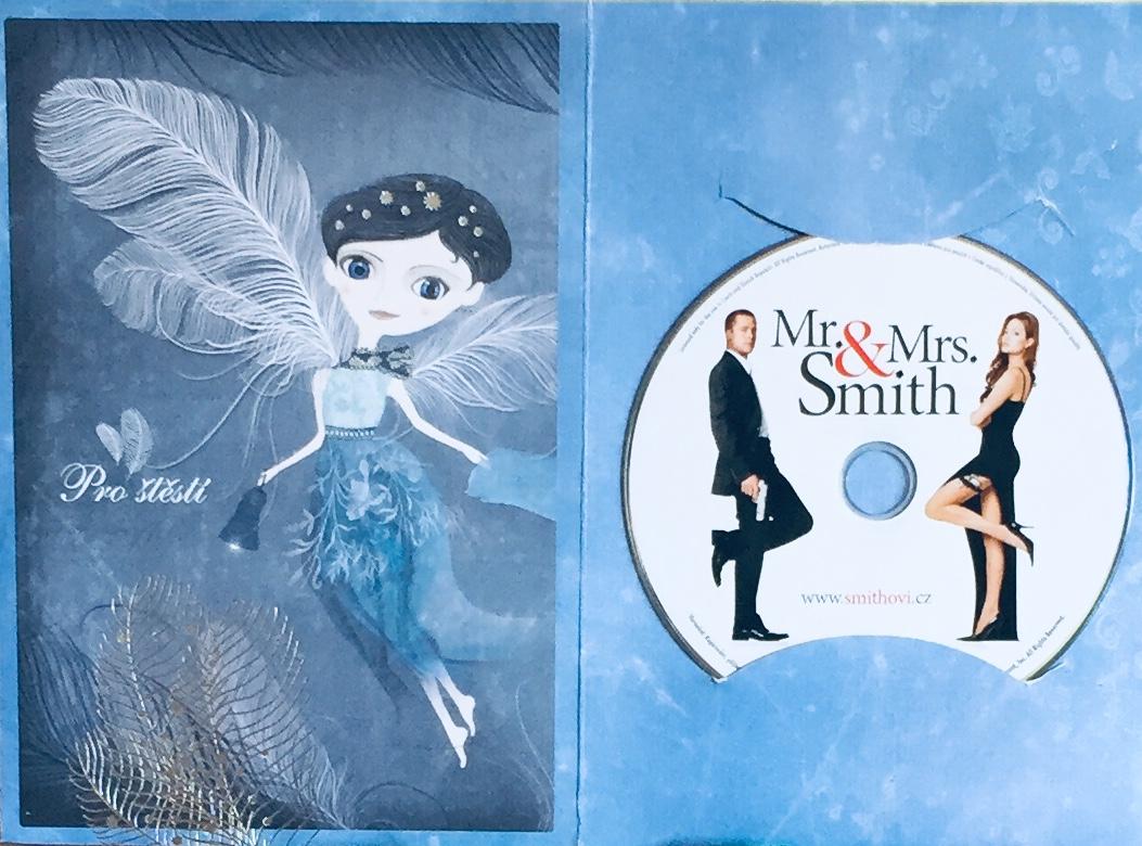 Mr. & Mrs. Smith - DVD /dárkový obal/