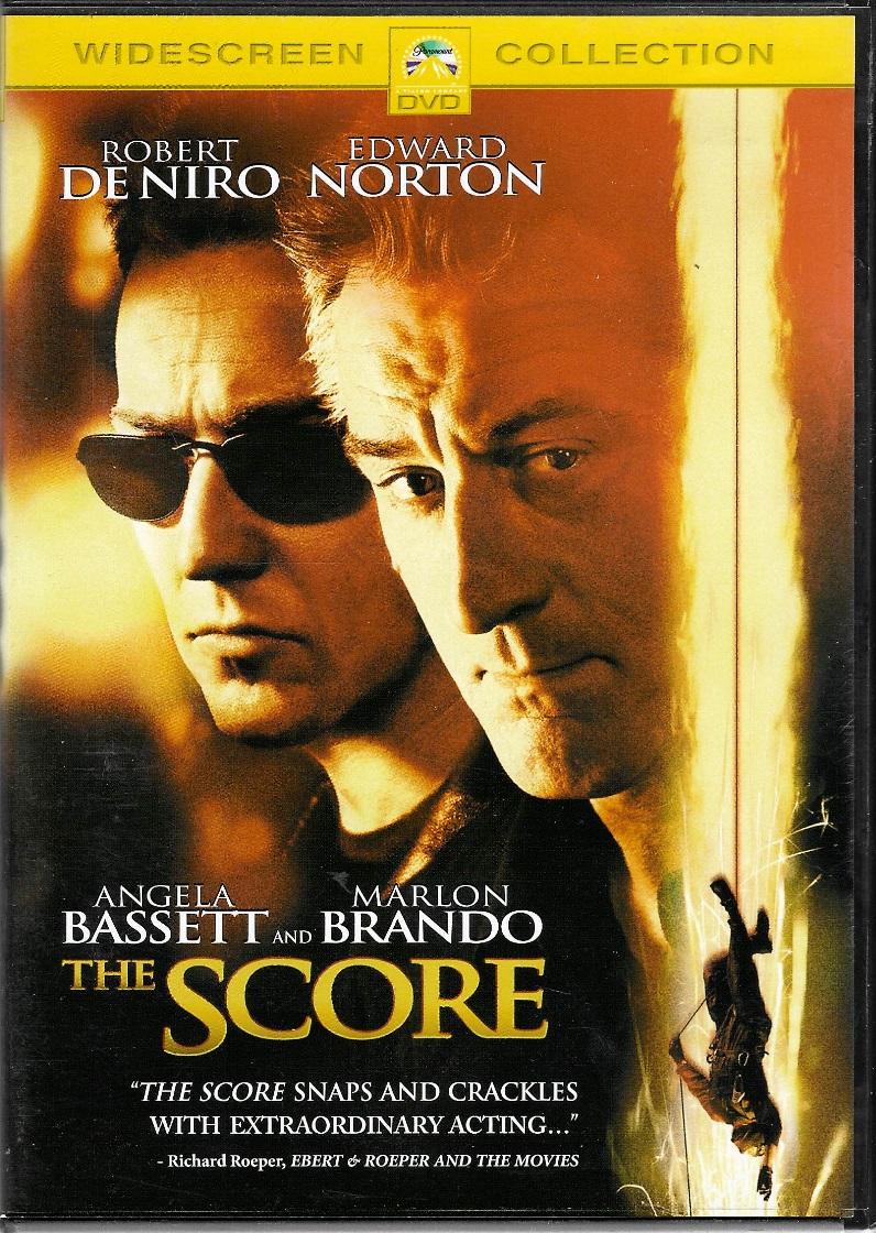 The Score - DVD plast