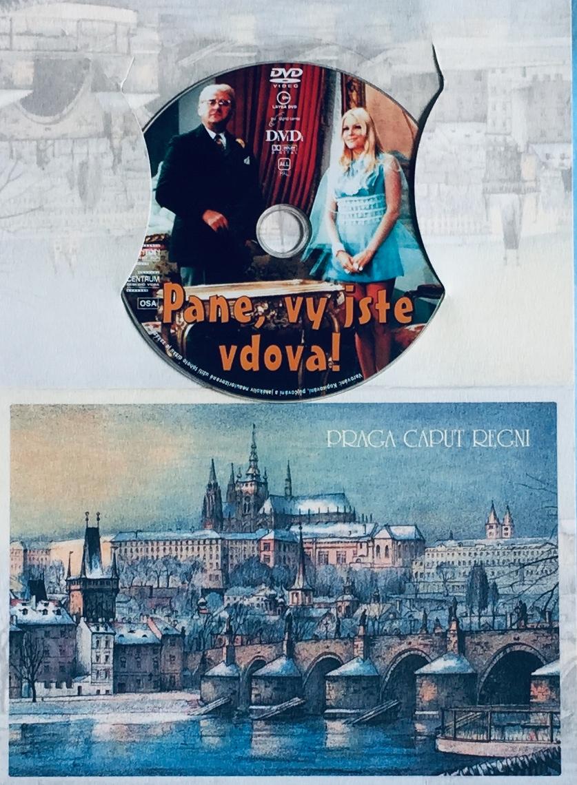 Pane, vy jste vdova!  - DVD /dárkový obal/