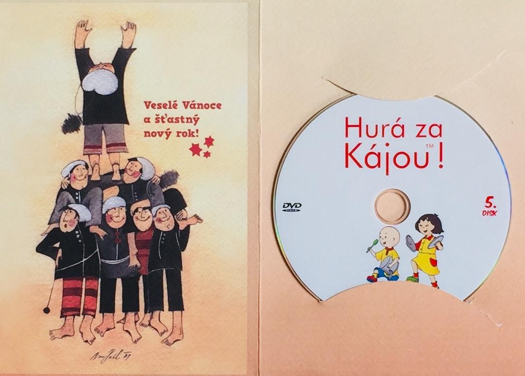 Hurá za Kájou! 5 - DVD /dárkový obal/