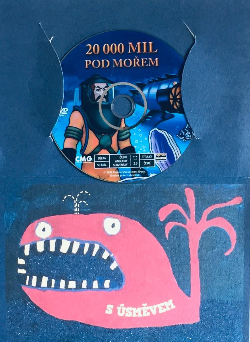 20 000 mil pod mořem - DVD /dárkový obal/