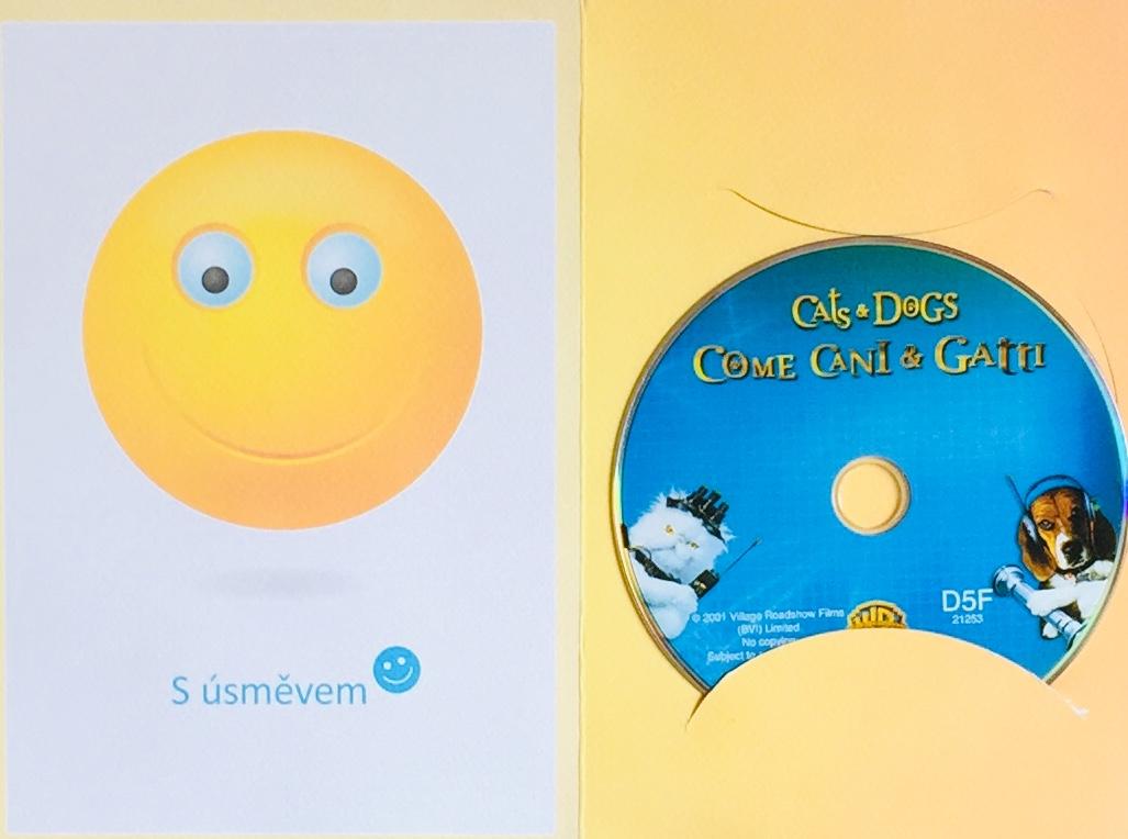 Cats & Dogs / Jako kočky a psi - DVD /dárkový obal/