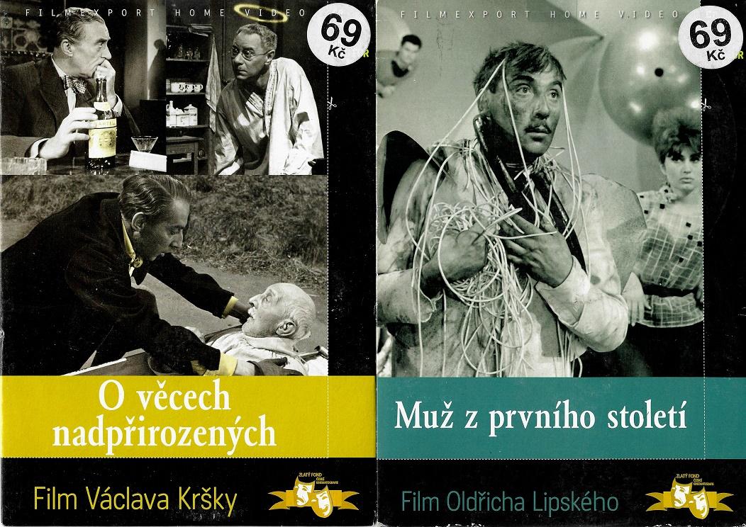 Nedělní filmy pro pamětníky 19. - Miloš Kopecký - 2 DVD pošetka