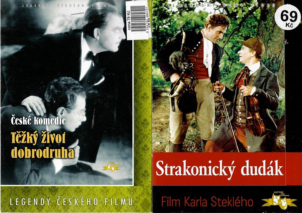 Nedělní filmy pro pamětníky 22: Ladislav Pešek - 2x DVD