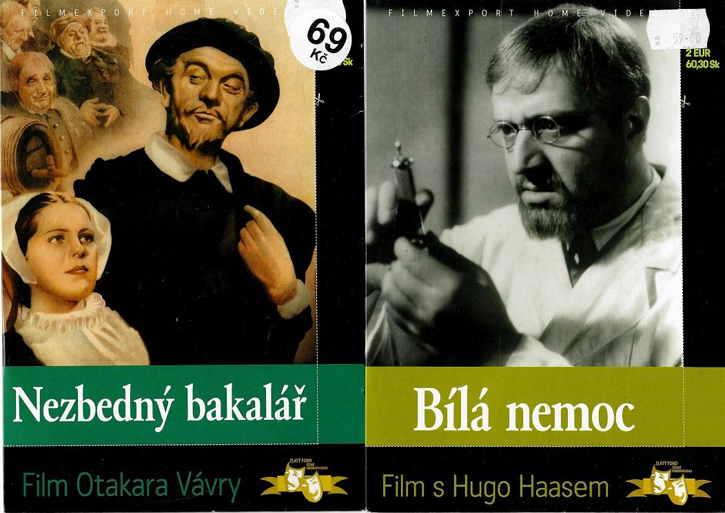 Nedělní filmy pro pamětníky 23: Zdeněk Štěpánek - 2x DVD
