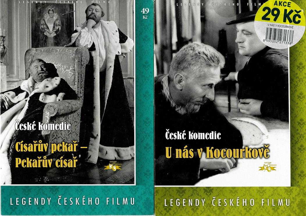 Nedělní filmy pro pamětníky 24: Jan Werich - 2x DVD