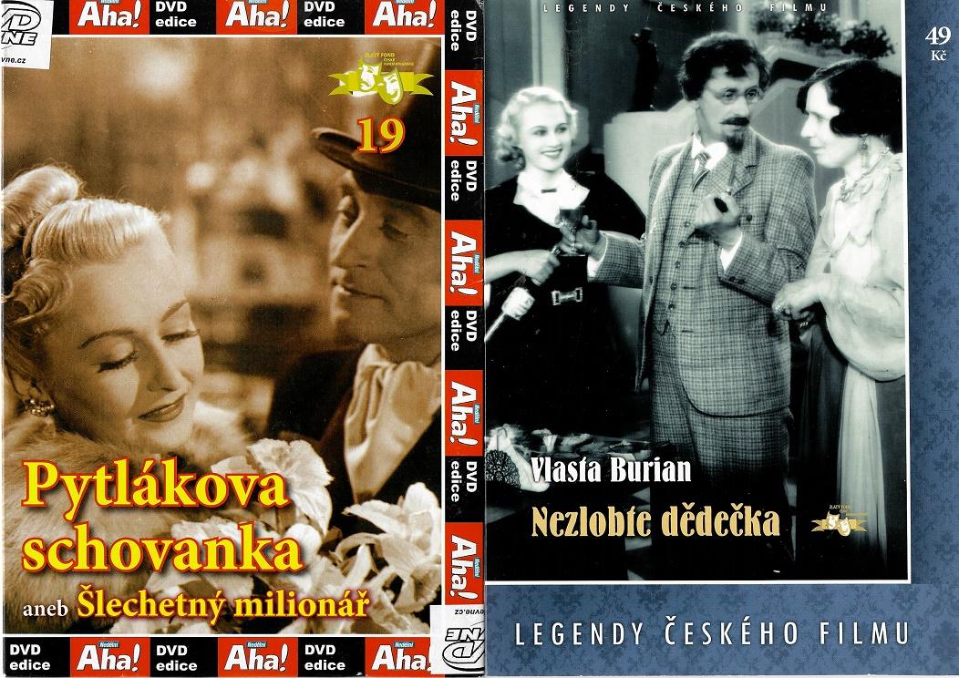 Nedělní filmy pro pamětníky 25: Hana Vítová - 2x DVD