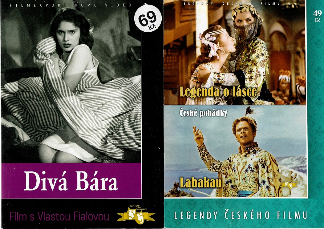 Nedělní filmy pro pamětníky 27: Vlasta Fialová - 2x DVD