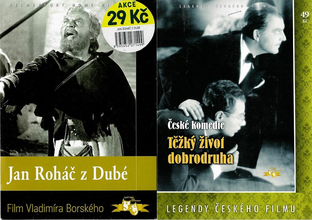 Nedělní filmy pro pamětníky 28: Otomar Korbelář - 2x DVD