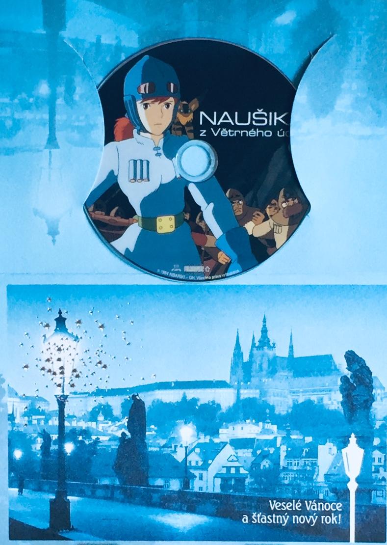 Naušika z Větrného údolí - DVD /dárkový obal/