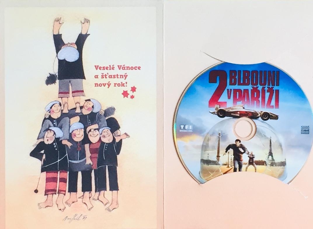 2 blbouni v Paříži - DVD /dárkový obal/