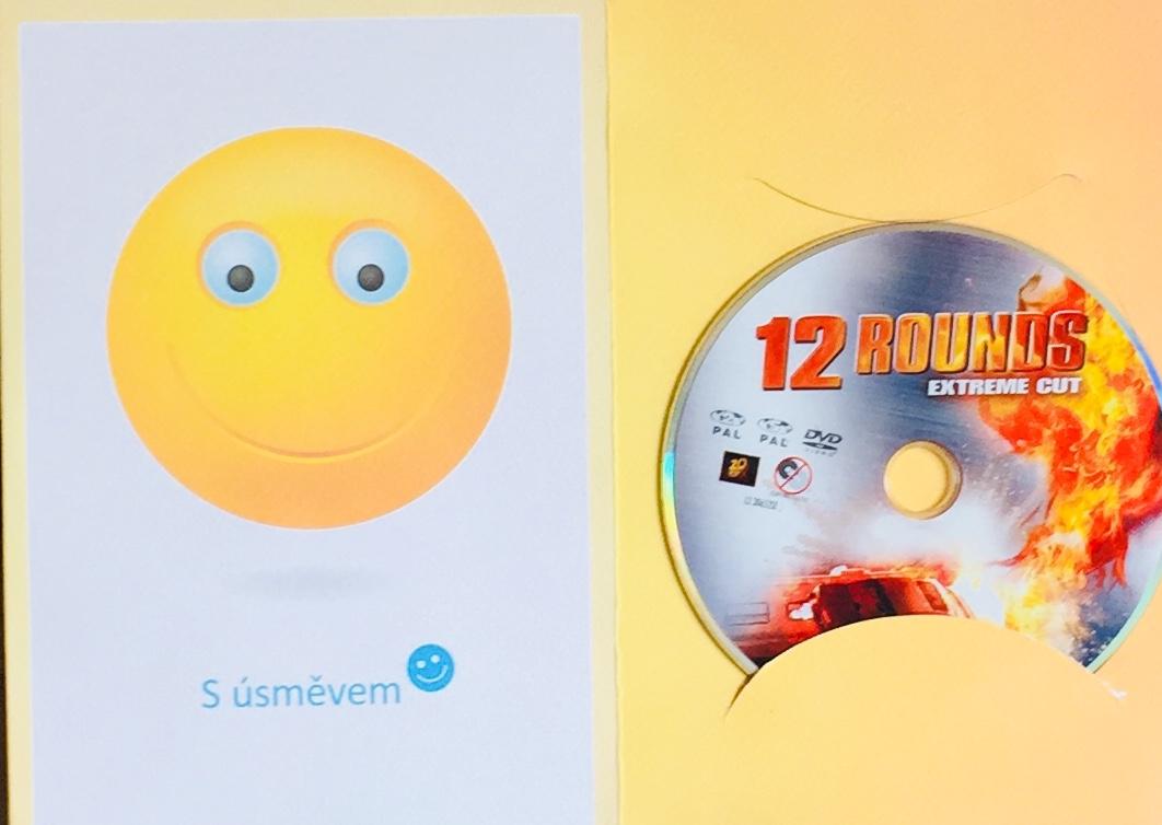 12 Rounds / 12 kol - DVD /dárkový obal/
