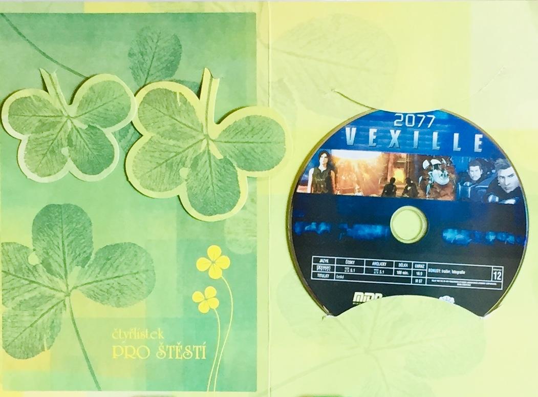 Vexille 2077 - DVD /dárkový obal/