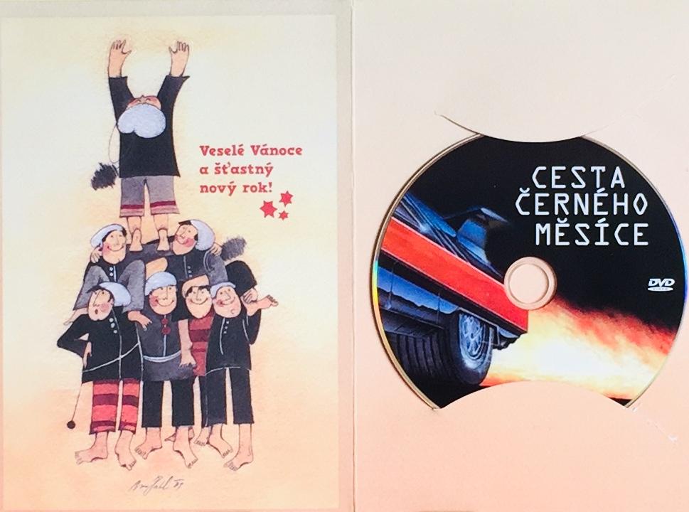 Cesta černého měsíce - DVD /dárkový obal/