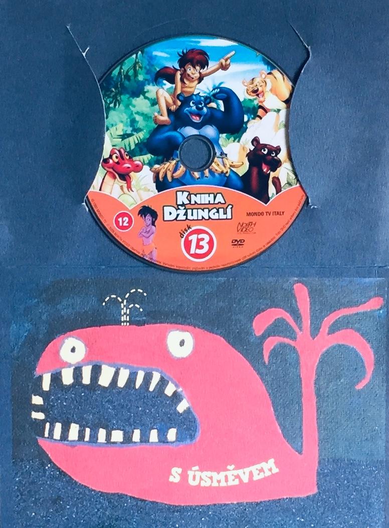 Kniha džunglí 13 - DVD /dárkový obal/