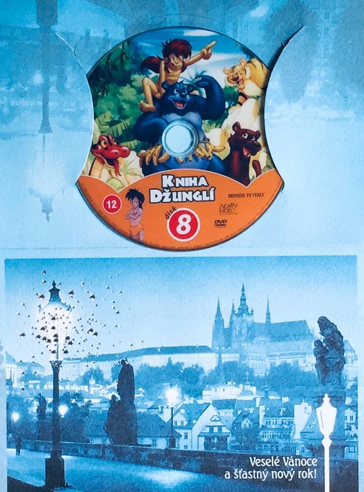 Kniha džunglí 8 - DVD /dárkový obal/