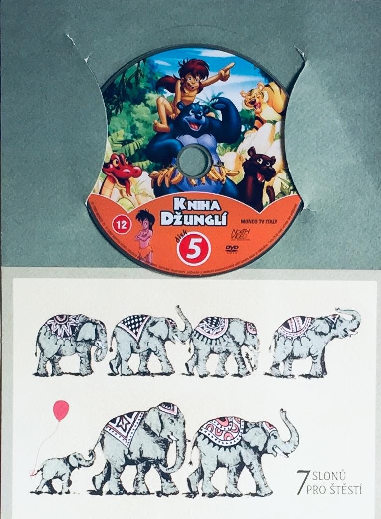 Kniha džunglí 5 - DVD /dárkový obal/