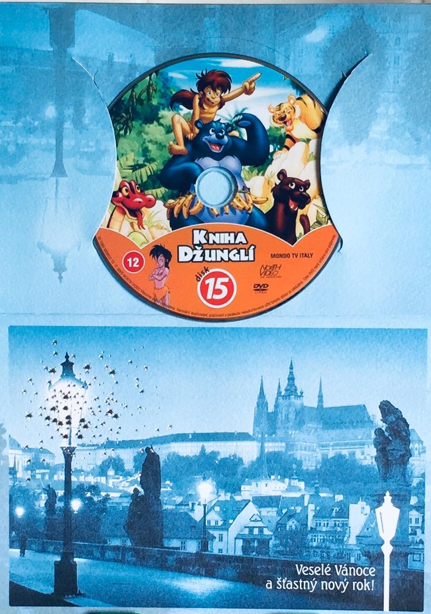 Kniha džunglí 15 - DVD /dárkový obal/