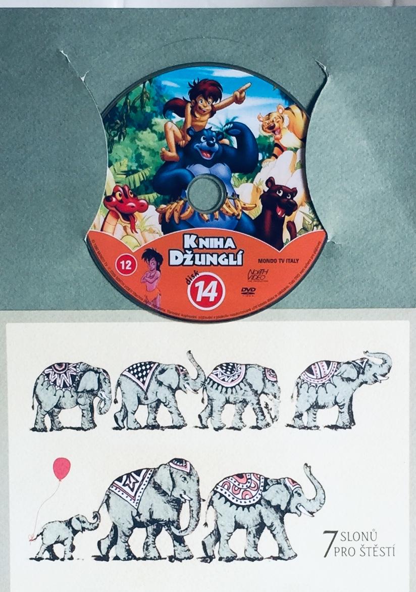 Kniha džunglí 14 - DVD /dárkový obal/