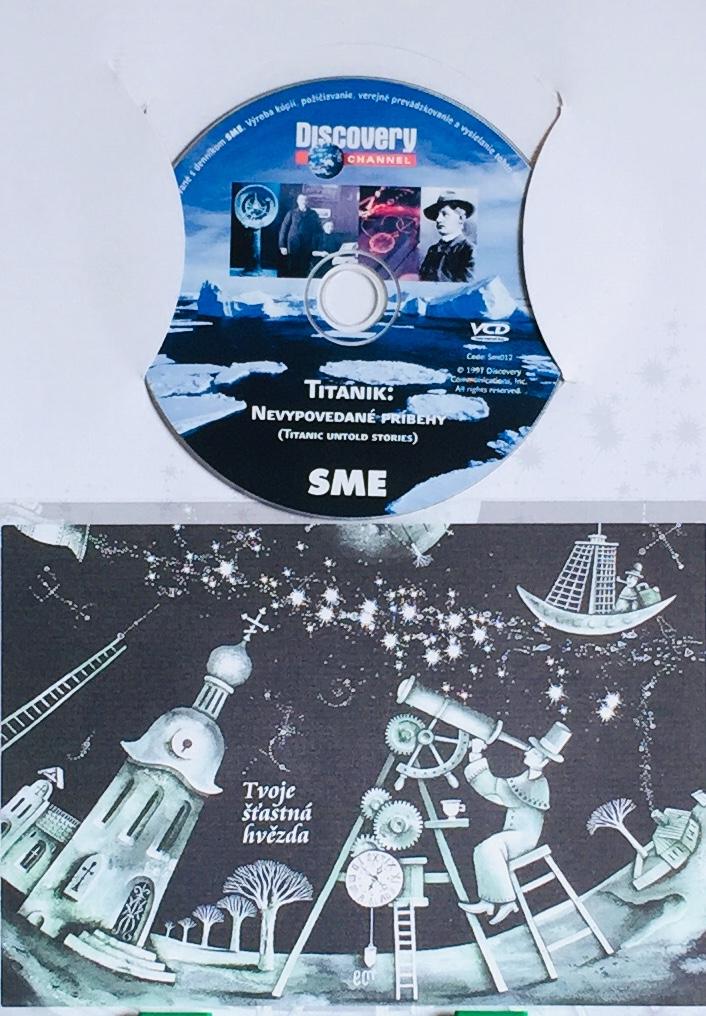 Titanik: Nevypovedané príbehy - DVD /dárkový obal/