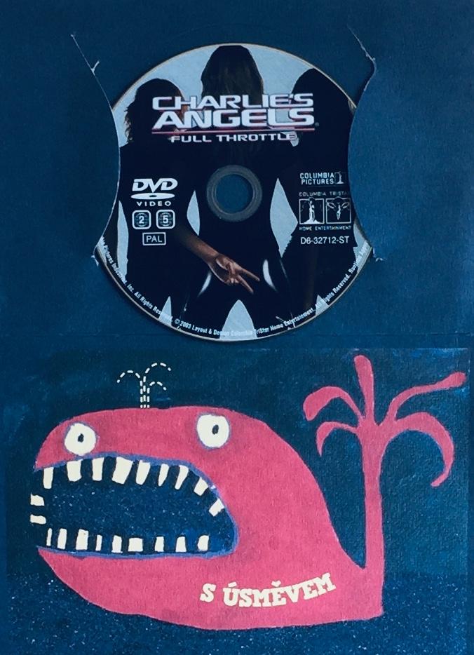 Charlie's Angels - Full Throttle /Charlieho andílci - Na plný pecky - DVD /dárkový obal/