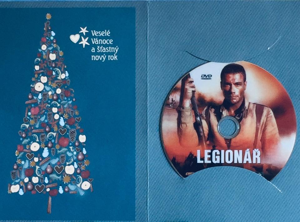 Legionář - DVD /dárkový obal/