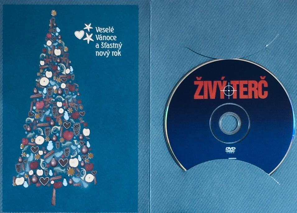 Živý terč - DVD /dárkový obal/
