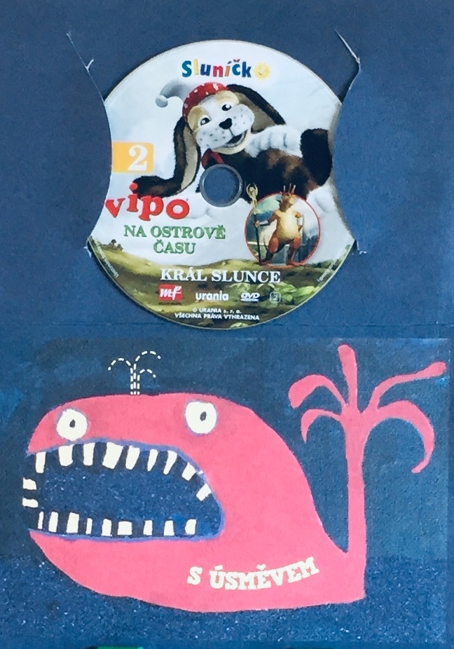 Vipo 2 - Na ostrově času - Král slunce - DVD /dárkový obal/