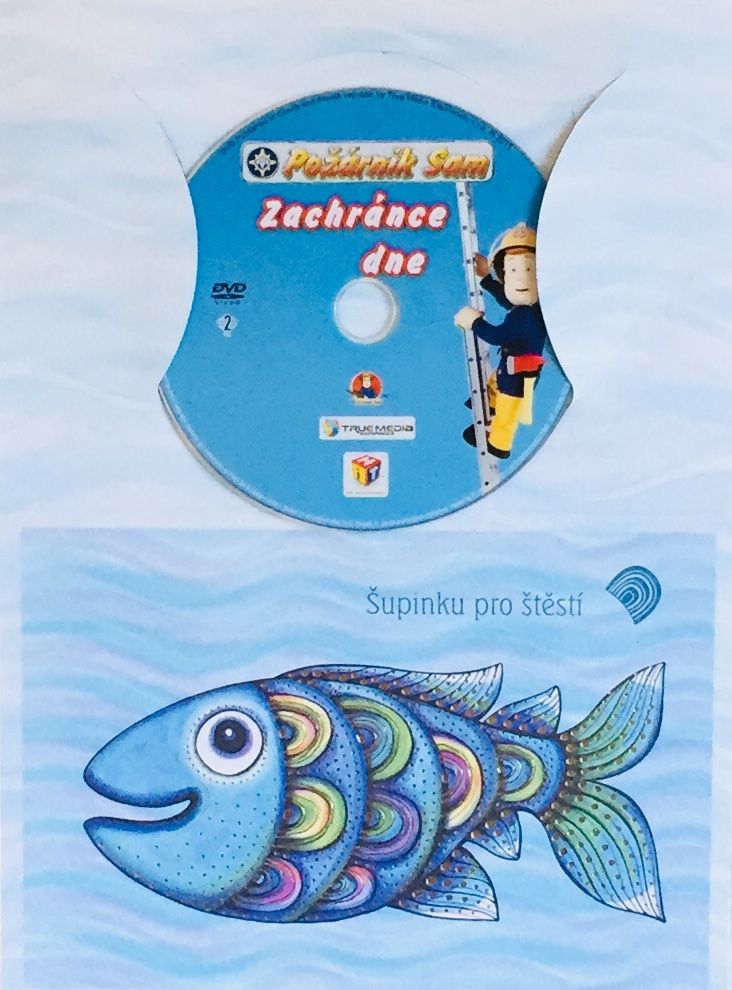 Požárník Sam - Zachránce dne - DVD /dárkový obal/