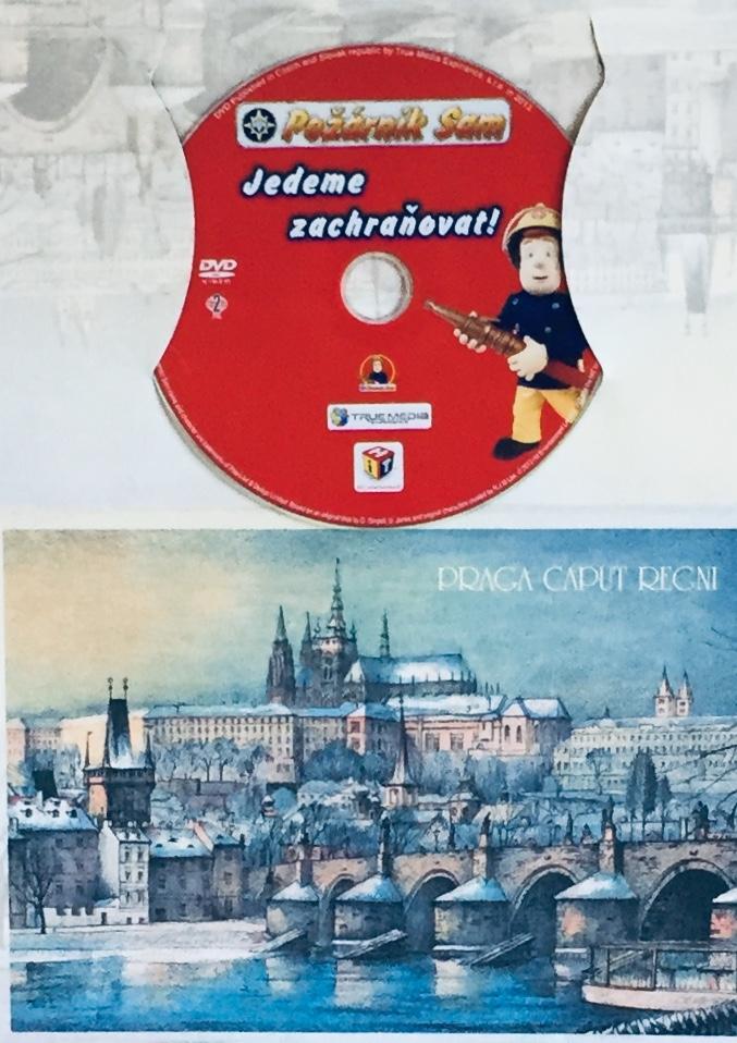 Požárník Sam - Jedeme zachraňovat - DVD /dárkový obal/
