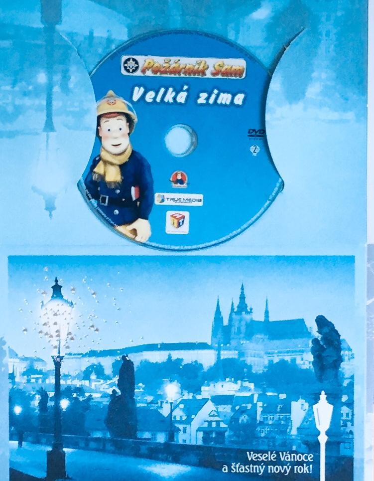 Požárník Sam - Velká zima - DVD /dárkový obal/