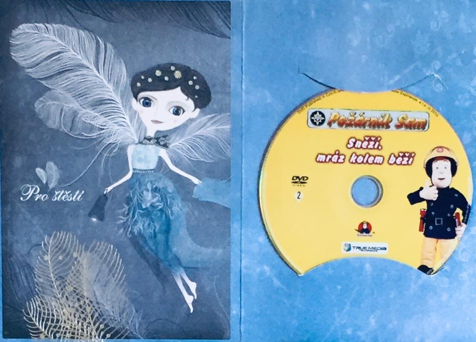 Požárník Sam - Sněží, mráz kolem běží - DVD /dárkový obal/