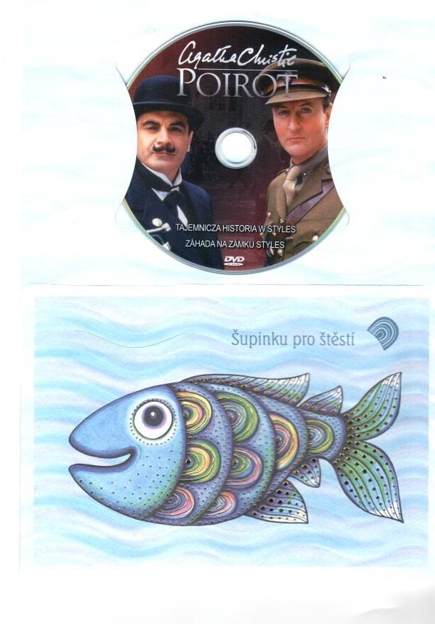 Poirot 16 - DVD - dárkový obal ( zboží z prodejny )