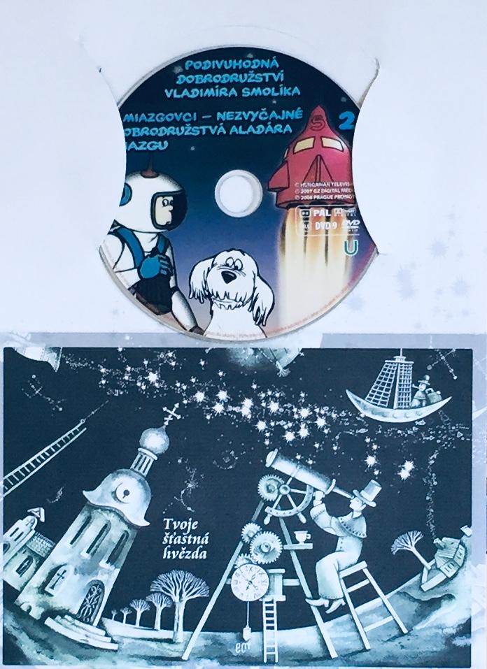 Podivuhodná dobrodružství Vladimíra Smolíka 2 - DVD /dárkový obal/